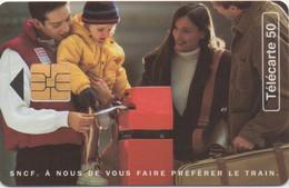 SNCF. À Nous De Vous Faire Préférer Le Train. 1995 - Trenes