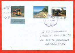 Latvia 2002. An Envelope Of Past Mail. - Letonia