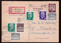 DDR Beleg - Postales - Usados