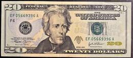 STATI UNITI 2004 20$  JACKSON +++SPL - Billetes De La Reserva Federal (1928-...)