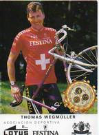CYCLISME  TOUR DE FRANCE  THOMAS WEGMULLER - Radsport