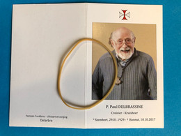 Pater Paul Delbrassine Kruisberg Croisier *1929 Stembert +2017 Hannut Hannuit Kongo Genebos Runkst Photo Prêtre - Décès