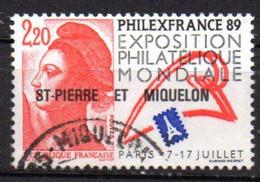 SPM Saint Pierre & Miquelon 1988 N° 489 Oblitéré Cote : 0,80€ - Oblitérés