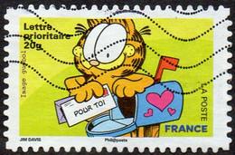 Oblitération Moderne Sur Adhésif De France N°  199 Ou 4276 - Sourires De 2008 Avec Le Chat Par Garfiel - Pour Toi - Non Classés