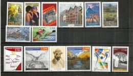 Année Complète 2004 ( 14 Timbres Neufs **)  Vall Del Madriu Unesco Heritage,Athens Olympics,Enfants Du Monde,etc - Années Complètes