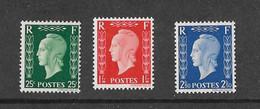 FRANCE YT 701 D à F NEUF** TTB DULAC - Unused Stamps