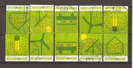 Belgique 2009 - Energie Verte - Ecologie - Série Complète De 10 Timbres° De Carnet Dont 7 Différents - Vrac (max 999 Timbres)