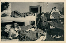 Ansichtskarte  Unser Heer Soldaten Wehrmacht Auf Der Stube 2. Weltkrieg 1939 - Sin Clasificación