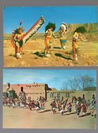 Lot De  2 Cartes (c. Années 50) Amérindiens , Indiens D'Amérique (PPP27023) - Other Topics