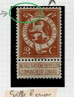 N° 109 Lion Héraldique  (* ) Griffe D'encre - Curiosa