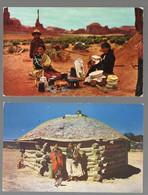 Lot De  2 Cartes (c. Années 50) Amérindiens , Indiens D'Amérique (PPP27025) - Other Topics