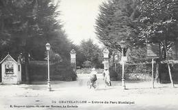 X/A      17    Chatelaillon    Entrée Du Parc Municipal - Châtelaillon-Plage