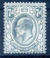 1909-10 GRAN BRETAGNA N.123 * - Unused Stamps