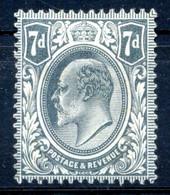 1909-10 GRAN BRETAGNA N.123 (*) - Unused Stamps