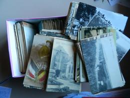 BELGIQUE  LOT DE 727 CPAS ET PETITES CPSMS (PETITES CARTES) A 0.30 C D'EUROS PIECE - 500 Postcards Min.
