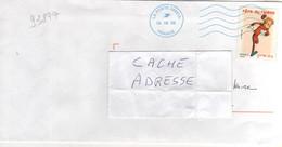 """Beau Timbre , Stamp """" Fête Du Timbre Spirou """" Yvert N° 3877 , Cover , Mail Du 06/08/2008 - Non Classés"""