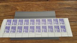 LOT531618 TIMBRE DE FRANCE NEUF** LUXE FACIALE COIN DATE BAS DE PAGE BLOC - Collections