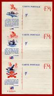3 CP De FM Publicitaires Saint Raphaël écrites Par Un Militaire Allemand Lors De L'invasion De Mai 1940  Texte++ 23/6/40 - Guerra Del 1939-45