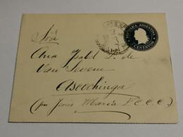 Lettre, Oblitéré Envoyé à Ascochinga - Cartas