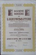 L'aruwimi-Ituri CONGO Stanleyville - Mineral