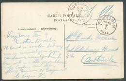CP En SM De WONDELGEM 9-X-1914 Vers Oostende (12-X-14) - 17274 - Invasione