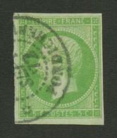 INDES : COLONIES GENERALES 5c Empire (n°8) TB Margé Obl. INDE PONDICHERY. TTB. - Non Classés