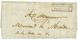 """""""OCCUPATION De NAPLES"""" : 1802 Cachet Rare Bau DE NAPLES / PORT PAYE Sur Lettre Avec Texte (défaut). TTB. - Army Postmarks (before 1900)"""
