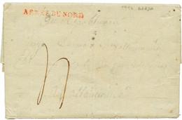 """An 2 ARMEE DU NORD En Rouge Sur Lettre Avec Texte Daté """"BREDA"""". Superbe. - Army Postmarks (before 1900)"""