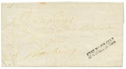 An 9 Cachet Trés Rare ETAT MAJOR GENal/ DE L' ARMEE DU RHIN Sur Lettre Avec Texte Avec Entête Imprimée ARMEE DU RHIN Dat - Army Postmarks (before 1900)
