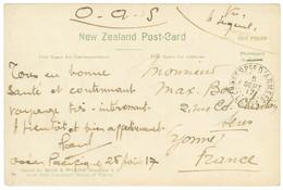 """1917 CORRESPce D' ARMEES L.A N°1 + """"O.A.S"""" Sur Carte Datée """"OCEAN PACIFIQUE 28 Aout 17"""" Pour La France. TB. - Army Postmarks (before 1900)"""