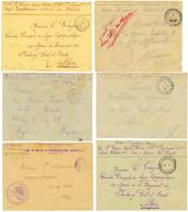 ARMEE D' ORIENT : 1915/18 Lot De 14 Lettres Dont SECTION TELEGRAPHIQUE. TTB. - Army Postmarks (before 1900)