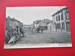 VIENNE LA VILLE - La Grande Rue - Avec Cachet De Depart De Vienne La Ville Héxagonal En 1904 - TBE - Altri Comuni
