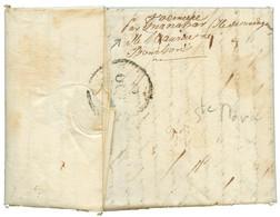 """""""STE MARIE De MADAGASCAR"""" : 1829 PAYS D' OUTREMER + Dateur A Sur Lettre Avec Texte (9 Pages) Datée """"STE MARIE DE MADAGAS - Non Classés"""