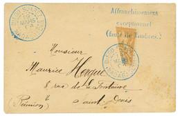 1904 COUPE Du 30c (n°80) Obl. DIEGO-SUAREZ Sur Enveloppe Pour ST DENIS (REUNION). Superbe. - Non Classés