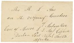 MADAGASCAR - MISSIONNAIRES NORVEGIENS : (1880) Enveloppe Adressée Au Révérand Norvégien AAS à MORONDAVA (MADAGASCAR), Ac - Non Classés