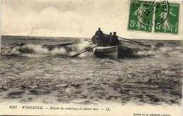 Wimereux - Bateau De Sauvetage En Pleine Mer - Andere Gemeenten
