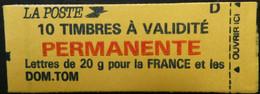 CARNET NEUF  - 1993  N° YVERT 2806 C1 MARIANNE DE BRIAT ( 10 TIMBRES VALIDITE PERMANENTE ) Neuf **  MNH - Uso Corrente