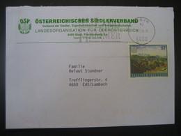 Österreich 1998-  Geschäfts-Brief Gelaufen Von Steyr Nach Edt/Lambach - 1991-00 Cartas