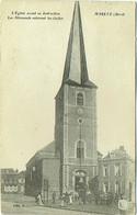 59. Maretz. Eglise Avant Sa Destruction. Les Allemands Enlevant Les Cloches. - Altri Comuni