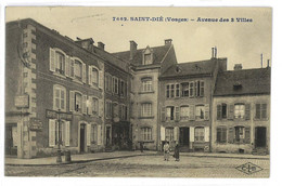CPA 88 SAINT-DIE AVENUE DES 3 VILLES - Saint Die