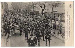 CPA Militaria - 1914-1918. Prisonniers Allemands Dirigés Sur L'Angleterre - ELD - Guerra 1914-18