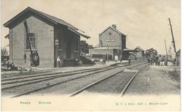 RANCE (SIVRY) - Station - Cachet De La Poste 1908 - Sivry-Rance