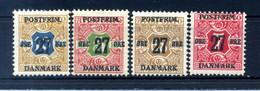 1918 DANIMARCA N.90/94 * (giornali Del 1907) - Nuevos