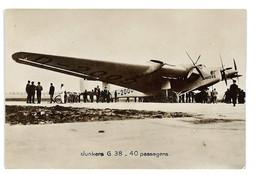 CPA AVIATION AVION JUNGERS G38 - 1919-1938: Interbellum