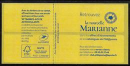 Date 23.09.1(9) Carnet Sagem .Marianne L'engagée Yseult - Definitives