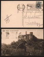 Belgique 1930 - Griffe Linéaire Falaen Sur Carte Postale Namur Vers Ledeberg - Linear Postmarks