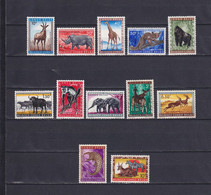 BELGIAN CONGO 1959, Mi# 343-354, Animals, MH - 1947-60: Mint/hinged