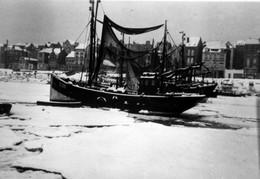 Blankenberge- Haven Met Vissersboten- Foto -reproductie Op Modern Papier - Blankenberge