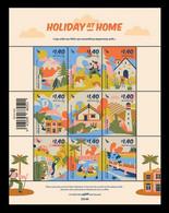 New Zealand 2021 Mih. 3847/55 Holiday At Home. Domestic Tourism. Mount. Stewart Island. Lighthouse Wairarapa MNH ** - Nuevos