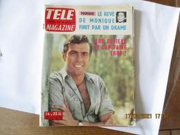 TELEMAGAZINE N°447 DU 16 AU 22 MAI 1964 NOUNOURS AU BAIN,NANCY HOLLOWAY,JAIME OSTOS LE MIRACULE A REPRIS LA MULETA - Television